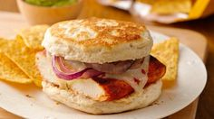 Grilled Mexican Chicken Sandwiches