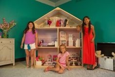 My Girl's Dollhouse, from Wicked Cool Toys, is an enormous, customizable, wooden dollhouse for 18-inch dolls and their furniture, clothing, ...