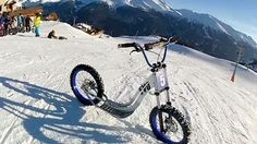 XBike -2 Roues Sur Neige [Nouveau]. Test and enjoy this new activity in Aussois. Really good and amazing sensations !