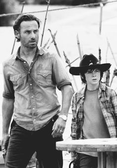 Rick Grimes & Carl, The Walking Dead