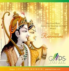 G.A.P.S. Services #wishes you a very #happy #Ramnavami ..!! #ContactUs for any #realestate #query .. Call - 96 91 96 91 96 or visit - www.gapsservices.com