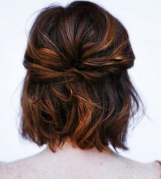 Gorgeous Wedding Hairstyles 2015 – 2016 for Short Hair