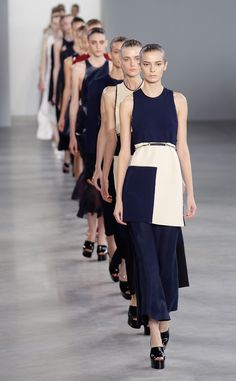 Why Is New York Fashion Week Still So White? The Problem of Sameness on the Runway  Calvin Klein, NYFW