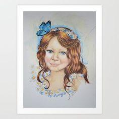Little flower fairy - $15