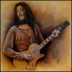 Peter Green (fleetwood mac) by Theo Reijnders