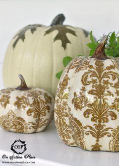 Fall Decor Pumpkins
