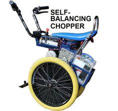 ATmega1280 powers this Raleigh Chopper-inspired, self-balancing scooter. #Atmel #ATmega1280 #Makers #DIY