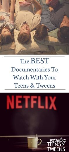 The Best Documentaries To Watch With Your Teens and Tweens  #Teens #Tweens #Family #Kids #Parenting #Movies #Entertainment #FamilyMovieNight #Documentaries #Education #TeenEducation #TeenEntertainment #FamilyEntertainment #TeenDocumentaries #Teenagers #FunforTeens #Netflix #FamilyFun