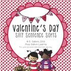 This pack includes 8 Valentine's Day-themed silly sentence sorts. Each sentence is provided in complete and mixed-up mode. (See image previews for ...