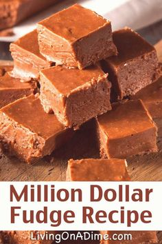 #Fudge #recipes #easy #your homemade friends million dollar recipe around family yummy fudge soooo this love sure your easy This million dollar fudge recipe is the best homemade fudge recipe around This is so easy and soooThis million dollar fudge recipe is the best homemade fudge recipe around This is so easy and soooo yummy your family and friends are sure to love it Easy Christmas Candy Recipes, Christmas Fudge, Christmas Desserts, Easy Chocolate Fudge, Homemade Chocolate, Chocolate Recipes, White Chocolate, Chocolate Peanut Butter Fudge, Chocolate Chocolate