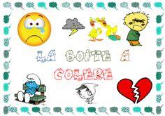 gestion des conflit, sentiments, ressentis : utilisation des boites à colère, à douceur, relationnelle