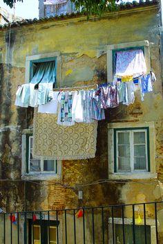 #Lisbon laundry. An institution. #Portugal #Lisboa.