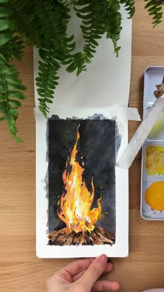 Watercolor Art Lessons, Watercolor Paintings For Beginners, Canvas Painting Tutorials, Watercolor Techniques, Watercolor Landscape Paintings, Painting Art, Watercolor Video, Watercolor Tutorials, Watercolor Cat