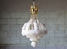 Crystallized chandelier
