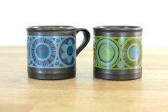Staffordshire Hermes Mugs