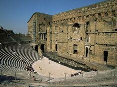 Roman Theatre (Theatre Antique), Orange, Unesco World Heritage Site, Vaucluse, Provence, France Photographic Print by Jean Brooks at Art.com...