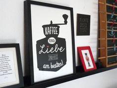Kaffee und Liebe sind heiss am besten – Bild