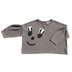 Cartoon Face Oversized Sweatshirt by Tambere - Junior Edition www.junioredition.com