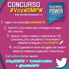 Ven gratis al #SMPW este 16/11 con este concurso @SocialMediaPW