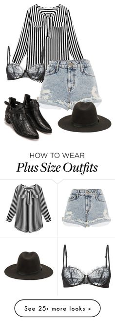 """""""Untitled #857"""" by ag18nese on Polyvore featuring River Island, La Perla, women's clothing, women's fashion, women, female, woman, misses and juniors"""