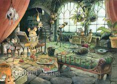 The Garden Studio by GabrielEvans on DeviantArt