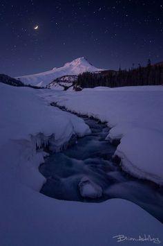 Photographie du jour #294 : Moonlit River