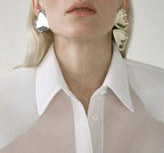The Great White, Pearl Earrings, Pearls, Accessories, Jewelry, Fashion, Moda, Pearl Studs, Jewlery