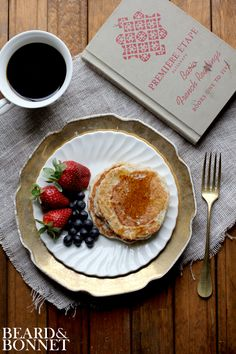 Sourdough Pancakes (Gluten-Free with a  Dairy Free Option)