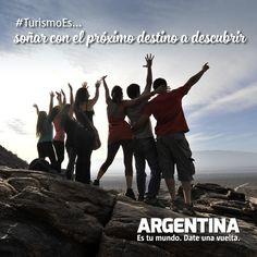 #Turismoes... soñar con el próximo destino a descubrir!  #DiaMundialDelTurismo #Argentina #WTD2015 #ArgentinaEsTuMundo Date una vuelta!