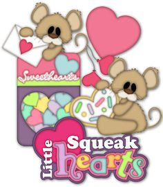 Little Squeakhearts Paper Piecing Patterns & Cutting Files (SVG,WPC,GSD,DXF,AI,JPEG