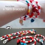 How+to+make+a+Yarn+Bracelet