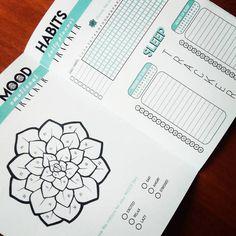 Bullet Journal Sleep habits printable