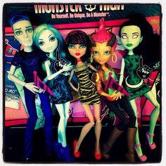 Flickr photo monster high dolls