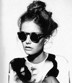 You and retro glasses,