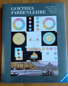 Theory of Colours Goethes Farbenlehre Matthaei Rupprecht In German 1987