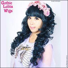 Gothic Lolita Wigs®  Lady Amara™ Collection - Black & Teal