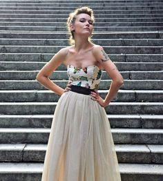 MOTYLE - suknia ślubna (proj. Szyjemy Sukienki)