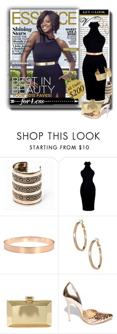 """Get The Look for Less: Viola Davis on the Cover of Essence"" by enjoyzworld ❤ liked on Polyvore featuring MANGO, 14th & Union, LULUS, Steve Madden and H&M"