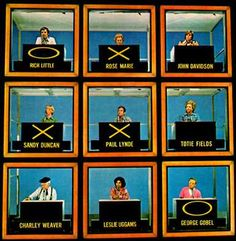 Hollywood Squares - tv show. I loved this show! Paul Lynde, Joanne Worley, Wally Cox, Rich Little, Rose Marie - - so funny. Loved how they teased & picked on each other. 1970s Childhood, My Childhood Memories, Sweet Memories, Childhood Movies, School Memories, Childhood Friends, Duncan, Tv Show Games, Cinema