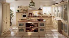 cuisine blanche et bois style campagne Belvedere par Scavolini Country Kitchen Designs, Rustic Kitchen, Cozy Kitchen, Scavolini Kitchens, Italian Home, Cuisines Design, Küchen Design, Free Design, Interior Design