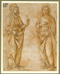 The Virgin and Saint John the Evangelist