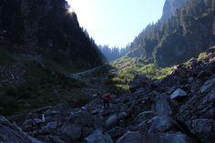 Hanes Valley boulder field, North Vancouver. Photo by Danielle Gorgerat.