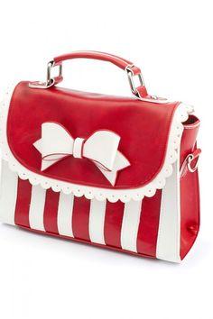 Handbags : Girly Handbag - Available in Black or Red