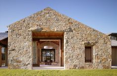 Contemporary Stone by Chesler Construction
