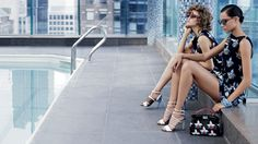 Binx Leona Walton ◙ Lindsey Wixson by Karl Lagerfeld for Fendi S/S 2015