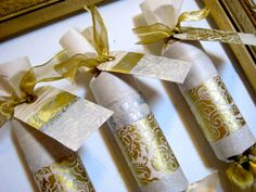 White and Gold Christmas Cracker on Etsy, $6.00 Christmas Crackers, Gold Christmas, Unique Jewelry, Handmade Gifts, Wedding, Etsy, Decor, Christmas Biscuits, Kid Craft Gifts