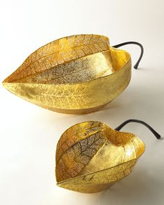 """""""Gooseberry"""" Bowls by Michael Aram at Neiman Marcus."""