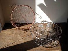 金網の水切り籠