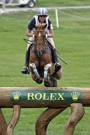 Karen O'Connor & Theodore O'Connor at Rolex Kentucky 3 Day Event.  I saw Teddy at his last Rolex.  AMAZING!!!