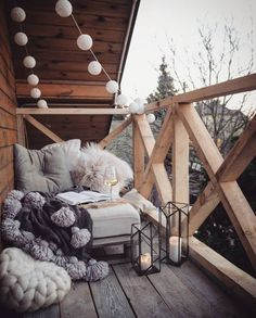 3 cozy farmhouse clean balcony decor ideas - patio and porch - # balcony . - 3 cozy farmhouse clean balcony decor ideas – patio and porch – # co - Apartment Balcony Decorating, Apartment Balconies, Cozy Apartment, Farmhouse Bedroom Decor, Home Decor Bedroom, Bedroom Art, Bedroom Ideas, Winter Balkon, Porch And Balcony
